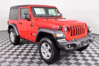New 2020 Jeep Wrangler Sport SUMMER CLEARANCE WITH EMPLOYEE PRICING PLUS - CLICK FOR DETAILS for sale in Huntsville, ON