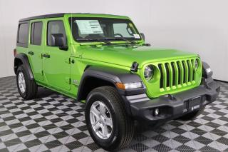 New 2020 Jeep Wrangler Unlimited Sport SUMMER CLEARANCE WITH EMPLOYEE PRICING PLUS - CLICK FOR DETAILS for sale in Huntsville, ON