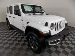 New 2020 Jeep Wrangler Unlimited Sahara SAHARA, 3.6L V6, 4X4, AUTO, NAVIGATION, HEATED SEATS & STEERING WHEEL, 8.4-INCH TOUCHSCREEN for sale in Huntsville, ON