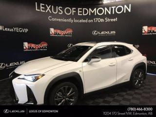 New 2020 Lexus UX 250H F Sport Series 1 for sale in Edmonton, AB