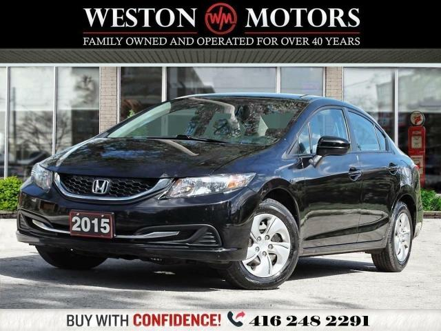 2015 Honda Civic LX*HEATED SEATS*REV CAM*WOW ONLY 79KMS!!!!*