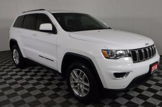 Used 2018 Jeep Grand Cherokee Laredo 4X4, 8.4-INCH TOUCHSCREEN, REMOTE START, HEATED SEATS & WHEEL for sale in Huntsville, ON