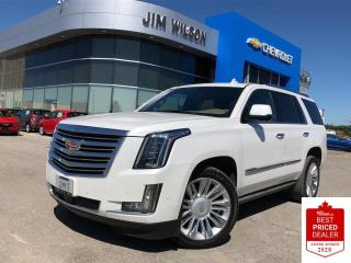 Used 2019 Cadillac Escalade Platinum PLATINUM AWD 6.2L POWER BOARDS 22'' WHEELS NAV for sale in Orillia, ON