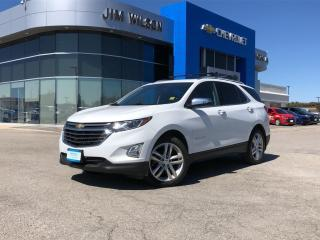 Used 2018 Chevrolet Equinox Premier AWD PREMIER 2.0L ROOF NAV POWER LIFTGATE 19WHEELS for sale in Orillia, ON