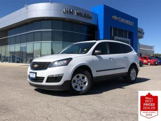 Used 2017 Chevrolet Traverse LS FWD 8-PASSENGER BLUETOOTH REAR CAMERA OFF-LEASE for sale in Orillia, ON