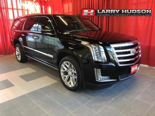Used 2018 Cadillac Escalade ESV Premium Luxury Navigation | Sunroof | DVD/BluRay Entertainment for sale in Listowel, ON