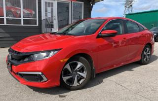 Used 2019 Honda Civic Sedan LX CVT for sale in Burlington, ON