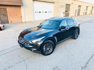 Used 2010 Infiniti FX50 FX50S | NAVI | 360CAM | CLEAN CARFAX for sale in Burlington, ON
