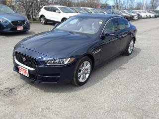 Used 2017 Jaguar XE PREMIUM DIESEL - LEATHER - SUNROOF - NAVIGATION! for sale in Ottawa, ON