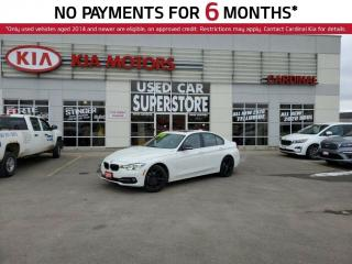 Used 2017 BMW 3 Series 320i XDRIVE, AWD, RED INTERIOR, NAV, BLUETOOTH, ME for sale in Niagara Falls, ON