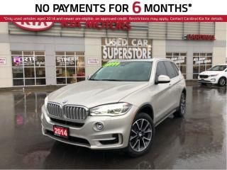 Used 2014 BMW X5 Diesel, AWD, Navigation, Sport AND Premium Package for sale in Niagara Falls, ON