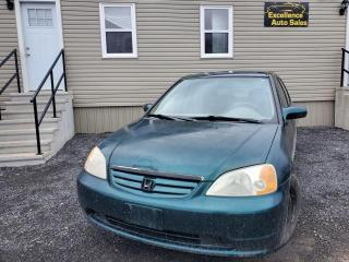 Used 2001 Honda Civic LX Sedan for sale in Stittsville, ON