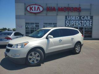 Used 2011 Chevrolet Traverse LT, 7 Passenger, AWD, Navigation, Heated Seats. for sale in Niagara Falls, ON