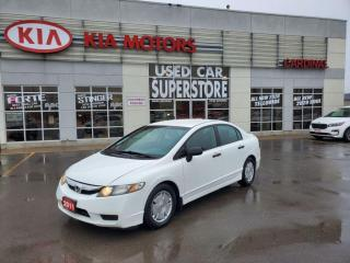 Used 2011 Honda Civic DX-G, Power Windows AND Locks, AUX Plug IN. for sale in Niagara Falls, ON
