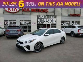 New 2020 Kia Forte EX Limited IVT - Leather, Premium Sound, Navi for sale in Niagara Falls, ON