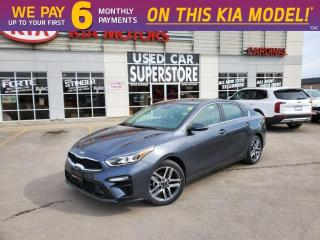 New 2020 Kia Forte EX Limited IVT - Leather, Navigation, Prem Sound for sale in Niagara Falls, ON