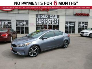 Used 2017 Kia Forte SX, Navigation, Sunroof, Blind Spot System. for sale in Niagara Falls, ON