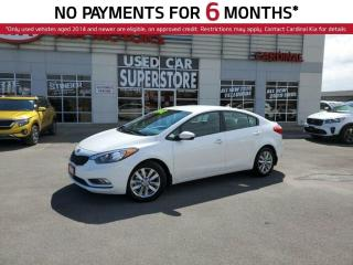 Used 2016 Kia Forte LX, Heated Seats, Keyless Entry, ECO Mode. for sale in Niagara Falls, ON