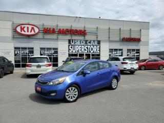 Used 2012 Kia Rio EX, Bluetooth, Heated Seats, Sunroof. for sale in Niagara Falls, ON