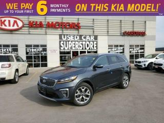 New 2020 Kia Sorento SX V6 AWD - Smart High Beam, LED Lighting, Leather for sale in Niagara Falls, ON