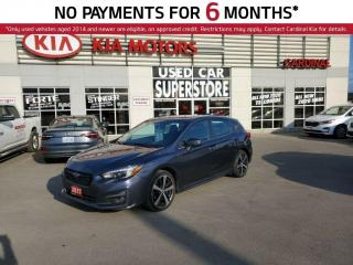 Used 2017 Subaru Impreza AWD, NAV, Leather, Sunroof. for sale in Niagara Falls, ON