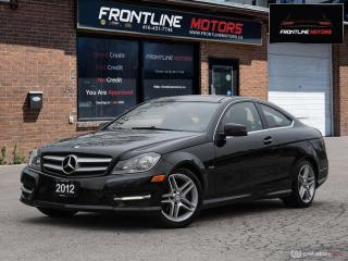Used 2012 Mercedes-Benz C-Class 2dr Cpe 1.8L RWD for sale in Scarborough, ON