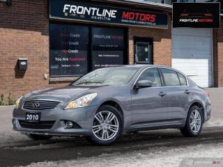 Used 2010 Infiniti G37 X 4dr x AWD for sale in Scarborough, ON