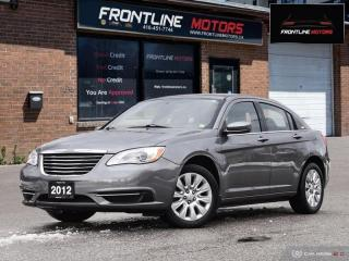 Used 2012 Chrysler 200 4dr Sdn LX for sale in Scarborough, ON