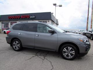 Used 2018 Nissan Pathfinder SL Premium 4WD 7 Passenger Leather Navigation Camera for sale in Milton, ON
