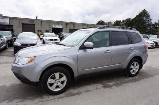 Used 2010 Subaru Forester 2.5X AWD PREMUIM CERTIFIED 2YR WARRANTY PANO SUNROOF POWER HEATED CRUISE ALLOYS for sale in Milton, ON