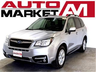 Used 2017 Subaru Forester 2.5i Premium CERTIFIED, AWD, WE APPROVE ALL CREDIT for sale in Guelph, ON