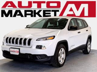 Used 2016 Jeep Cherokee Sport CERTIFIED, WE APPROVE ALL CREDIT for sale in Guelph, ON