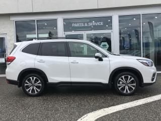 New 2020 Subaru Forester 2.5i LIMITED EYESIGHT for sale in Vernon, BC