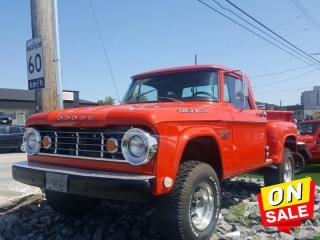 Used 1967 Dodge Cargo Van W-200 Vintage Enthusiast... its Available! for sale in North Bay, ON