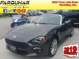 New 2019 Fiat 124 Spider Lusso for sale in North Bay, ON