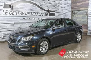 Used 2016 Chevrolet Cruze LS+AIR CLIM+BLUETOOTH for sale in Laval, QC