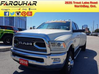 Used 2016 RAM 3500 Laramie Limited - Air - $425 B/W for sale in North Bay, ON
