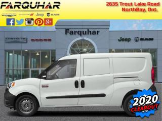New 2020 RAM ProMaster City Cargo Van SLT for sale in North Bay, ON