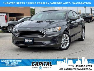 New 2019 Ford Fusion Hybrid Se for sale in Winnipeg, MB