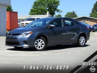 Used 2015 Toyota Corolla CE + BLUETOOTH + GR ÉLECTRIQUE! for sale in Magog, QC