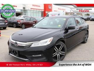 Used 2016 Honda Accord Touring for sale in Whitby, ON