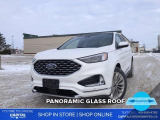New 2020 Ford Edge Titanium for sale in Winnipeg, MB