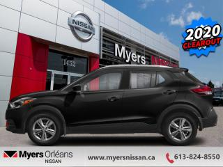 New 2020 Nissan Kicks S  -  Touch Screen - $124 B/W for sale in Orleans, ON