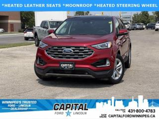 New 2020 Ford Edge SEL AWD for sale in Winnipeg, MB