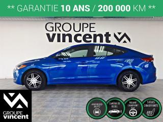 Used 2018 Hyundai Elantra GL ** GARANTIE 10 ANS ** Voiture confortable et fonctionelle! for sale in Shawinigan, QC