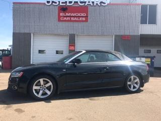 Used 2011 Audi A5 2.0T Premium Plus (Tiptronic) for sale in Edmonton, AB