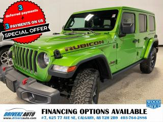 Used 2019 Jeep Wrangler Unlimited Rubicon JL RUBICON. for sale in Calgary, AB