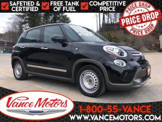 Used 2014 Fiat 500 L Trekking...NAV*HTD SEATS*SUNROOF! for sale in Bancroft, ON