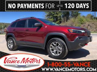 New 2020 Jeep Cherokee Trailhawk 4x4...HTD SEATS*BACKUP CAM*TOW! for sale in Bancroft, ON