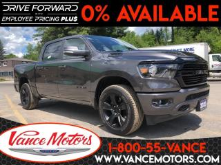 New 2020 RAM 1500 Big Horn Night Edition 4X4...V8*HTD SEATS*BACKUP C for sale in Bancroft, ON